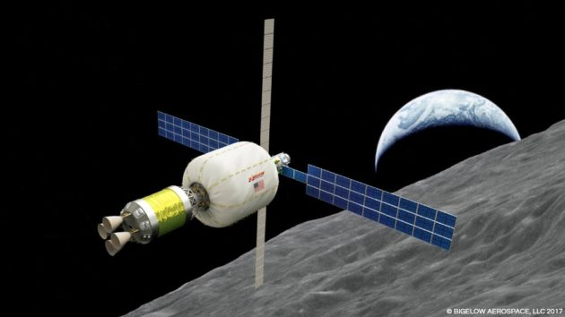 ULA, Bigelow partner on launch of habitable pod near moon