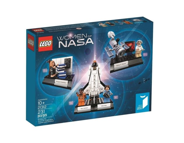 Lego shows off its 'Women of NASA' toy set, without 'Hidden ...