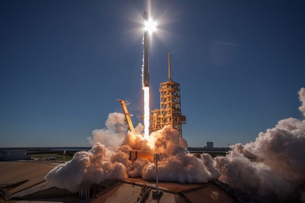 SpaceX sends KoreaSat-5A into orbit and then lands Falcon ...