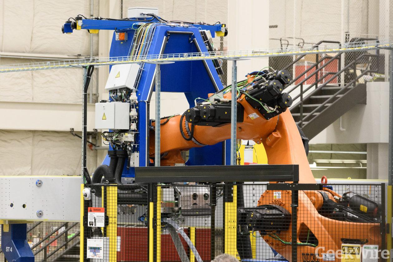 Robot on the job