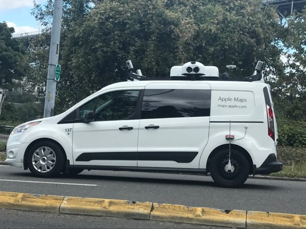 High-tech Apple Maps van spotted in Seattle — could 'street view' on
