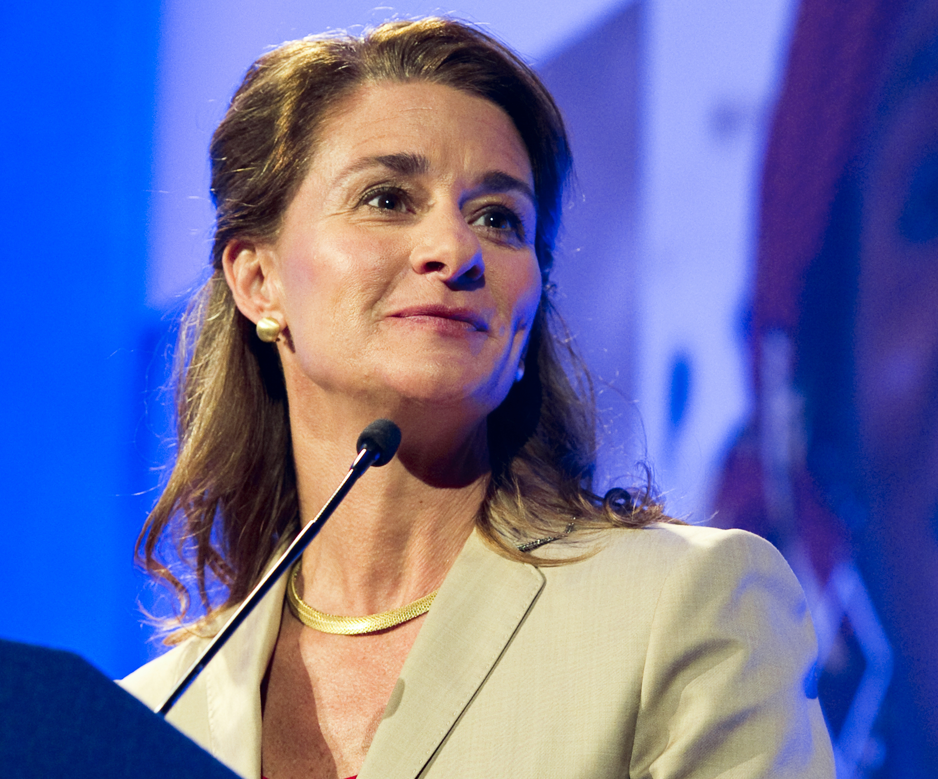 Melinda Gates Dishes On The Family Rule That Ensures She S Not The Last One In The Kitchen Geekwire