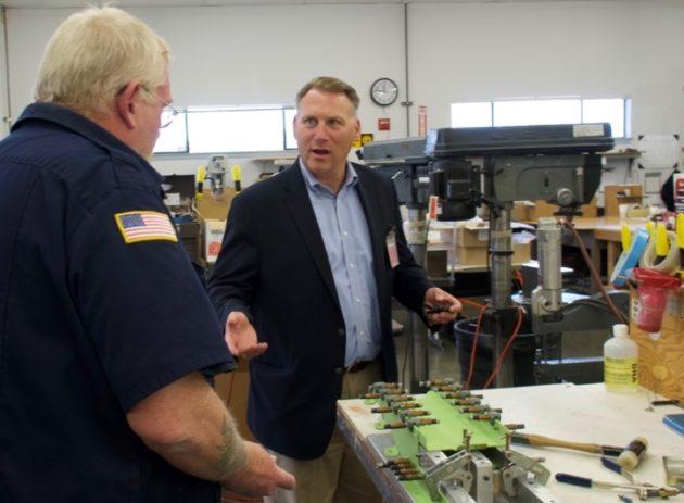 John Thornquist at Chinook Enterprises