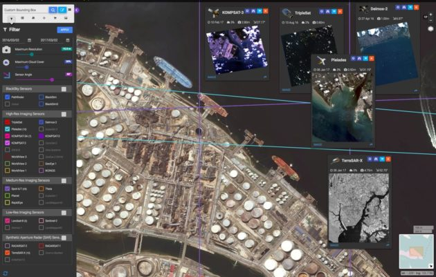 BlackSky imagery platform