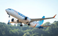 flydubai 737 MAX 8 delivery