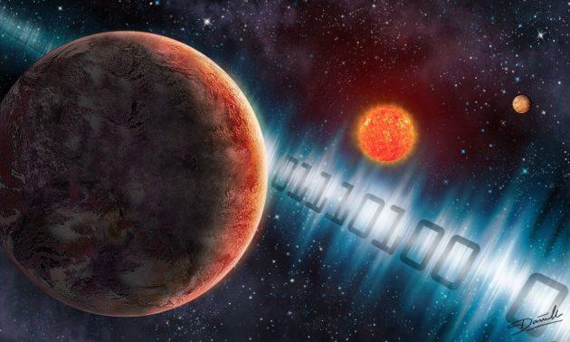 International campaign starts broadcasting tunes to alien super