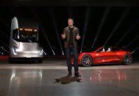 Elon Musk, Semi and Roadster