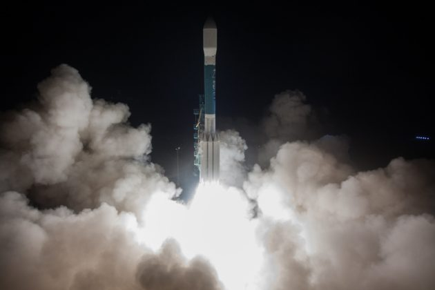 Night launch sends next-gen JPSS-1 weather satellite into