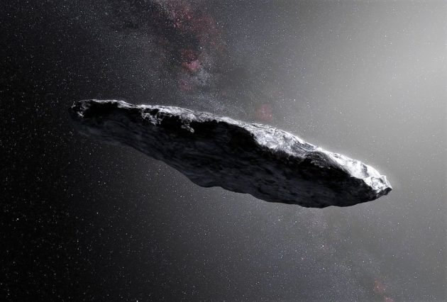 This is our first confirmed visitor from another solar system, NASA says