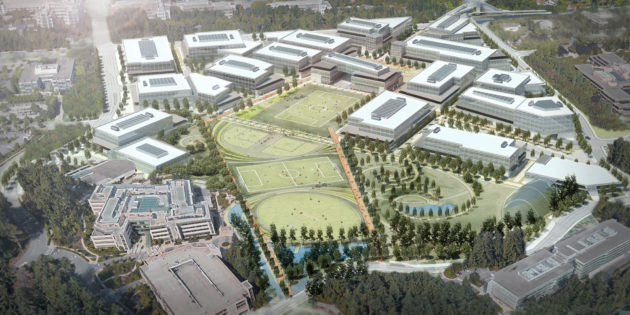 Microsoft announces significant extension of its Redmond campus