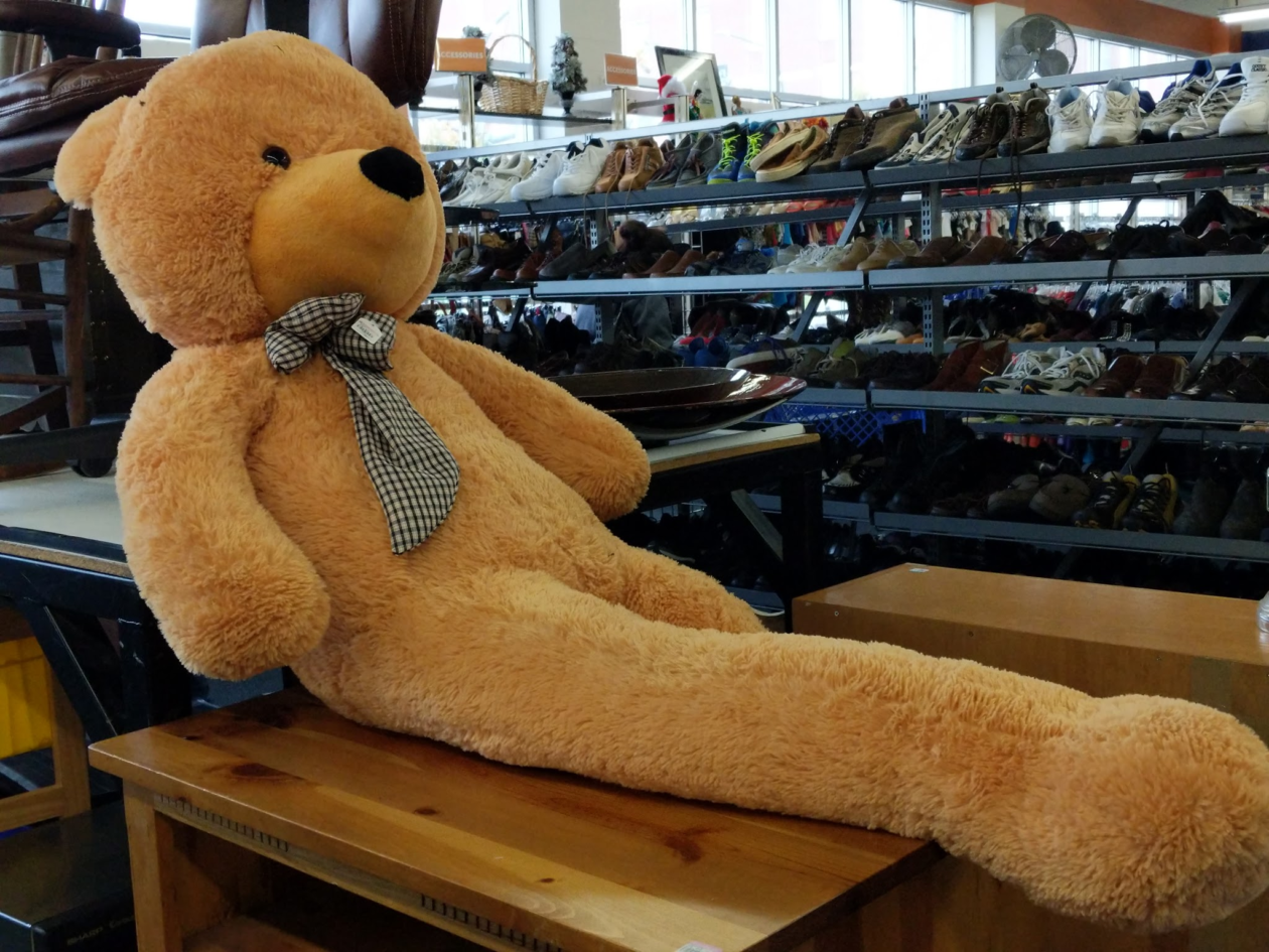 Long Legged Teddy Bear That Creeped Out The Internet