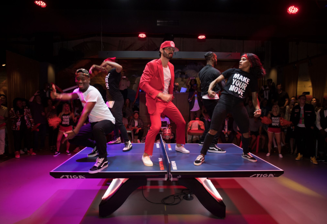 New York Based Ping Pong Social Club Spin Opening A Giant
