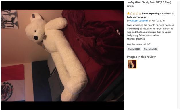 Amazon Teddy bear