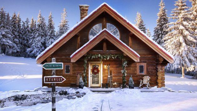 Santa's Zillow listing