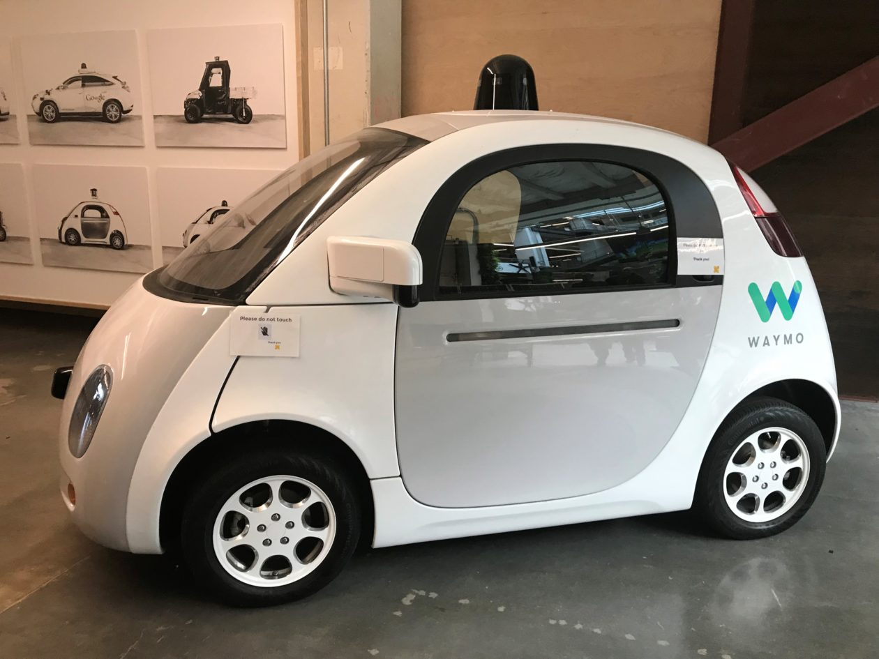 Google X prototype car