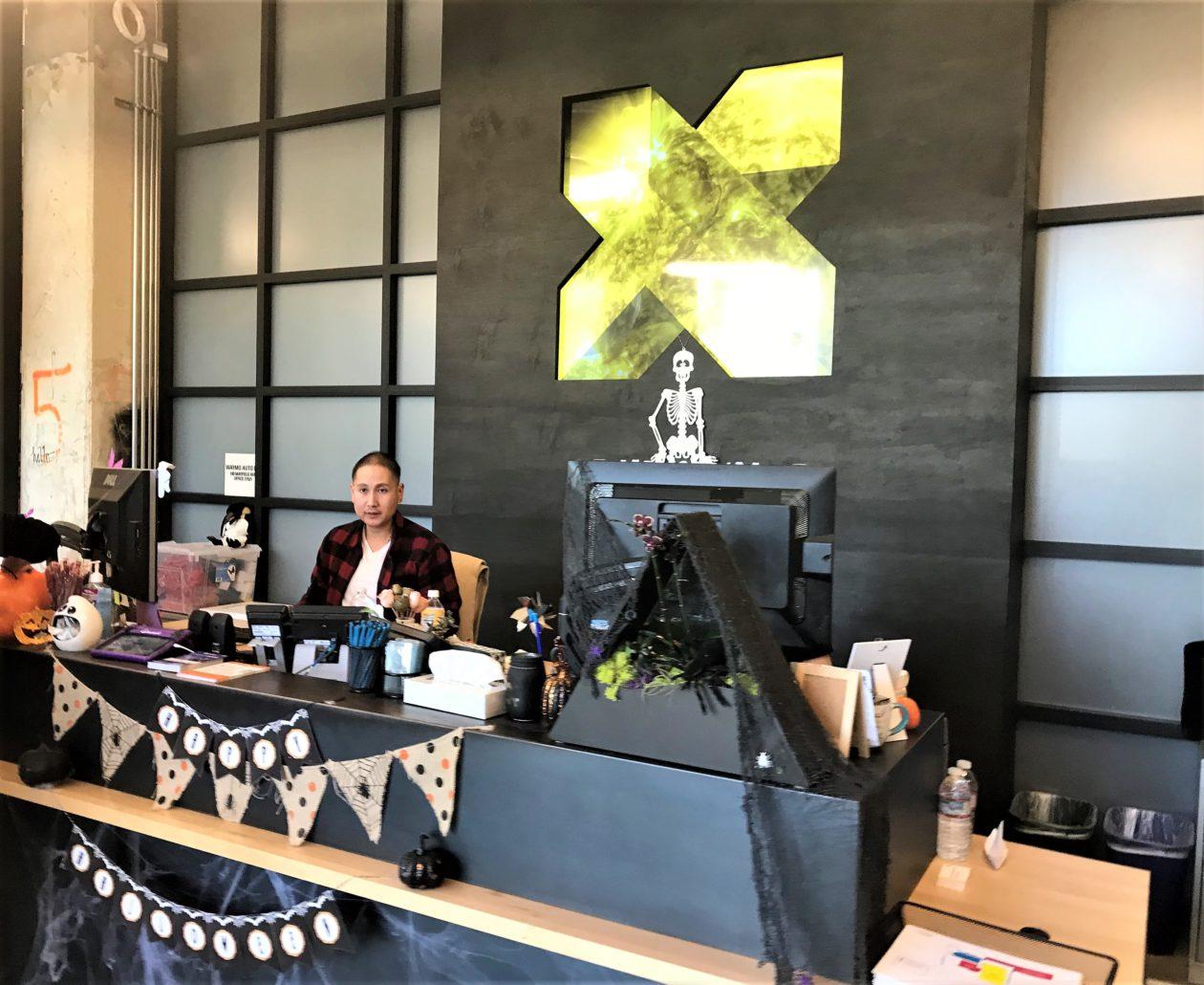 X lobby