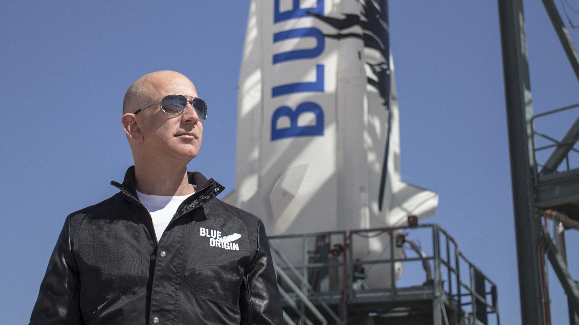 Jeff Bezos says he'll ride with Blue Origin's first space passengers in July