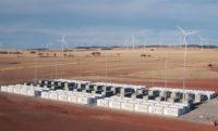 Tesla battery bank