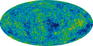 WMAP map of cosmos