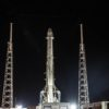 SpaceX Falcon 9 on pad