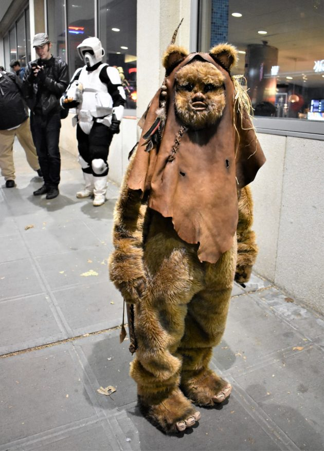Aidan Vincent as Ewok