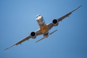 Embraer E195-E2 jet