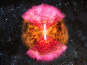 Neutron star smashup