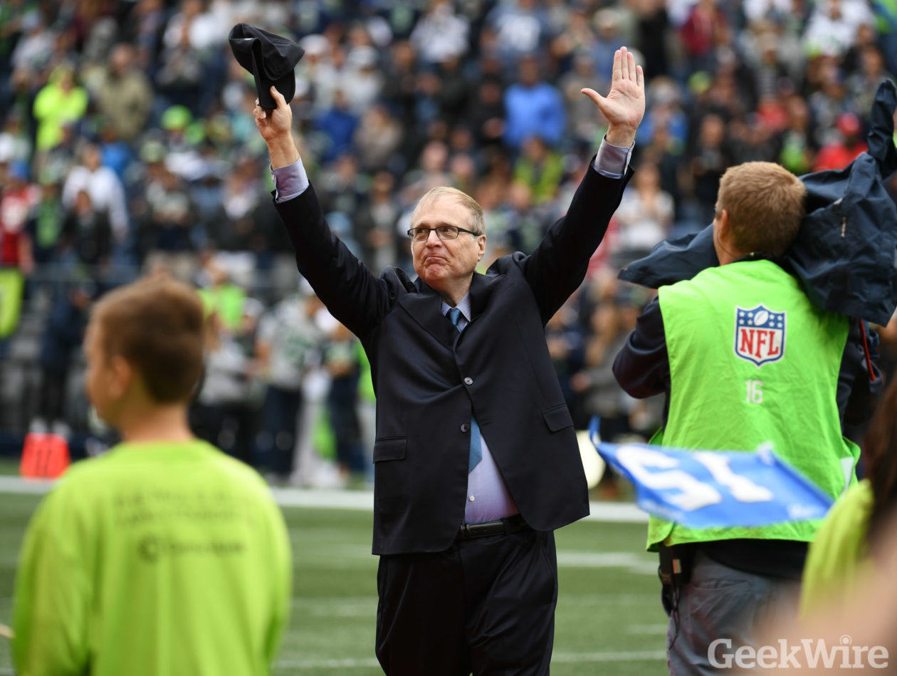 If Paul Allen's Seattle Seahawks are sold, who could step in? Bill Gates? Jeff Bezos? Howard Schultz ...