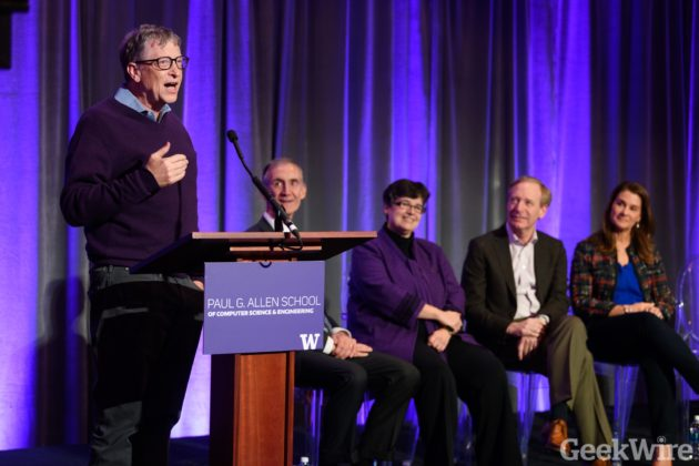 No more stealing computer time: Bill Gates marks key milestone for UW computer science expansion