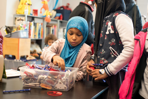 Big-Brained Superheroes Club taps the STEM smarts of overlooked kids
