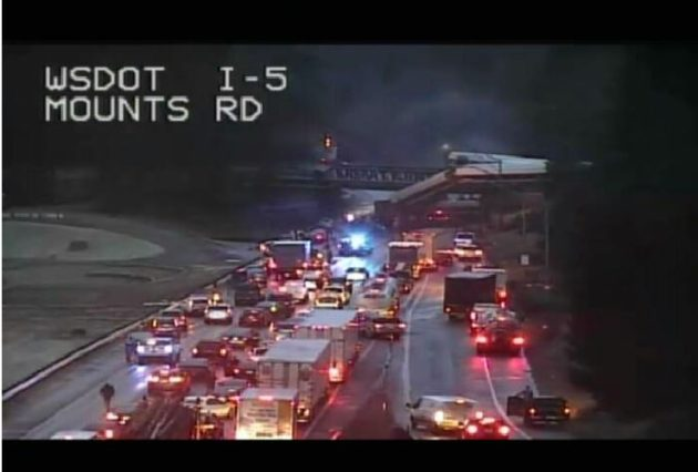 Amtrak train derails off bridge near Seattle, blocking all
