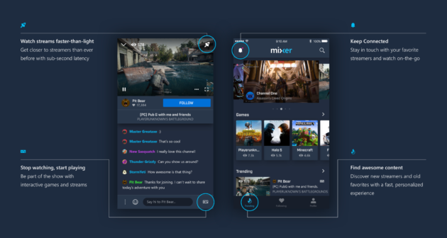Microsoft-owned Mixer unveils redesigned app for more