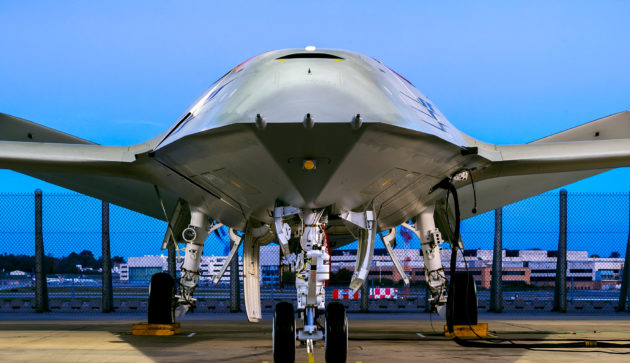 No pilot required: Boeing unveils autonomous plane for refueling fighter jets in midair