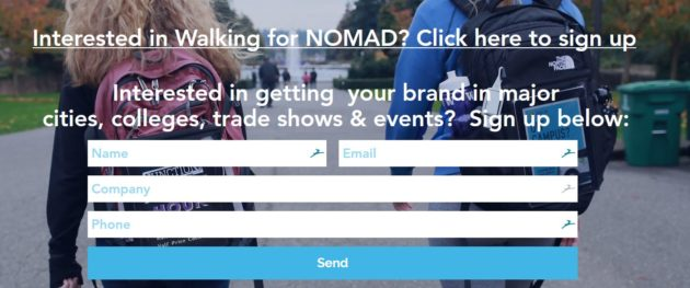Startup Nomad's 'human billboard' marketing blends digital technology with a personal touch – GeekWire - Nomad recruiting 630x263 - Startup Nomad's 'human billboard' marketing blends digital technology with a personal touch – GeekWire
