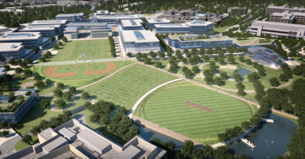 Image result for New Microsoft US campus to get world-class cricket field