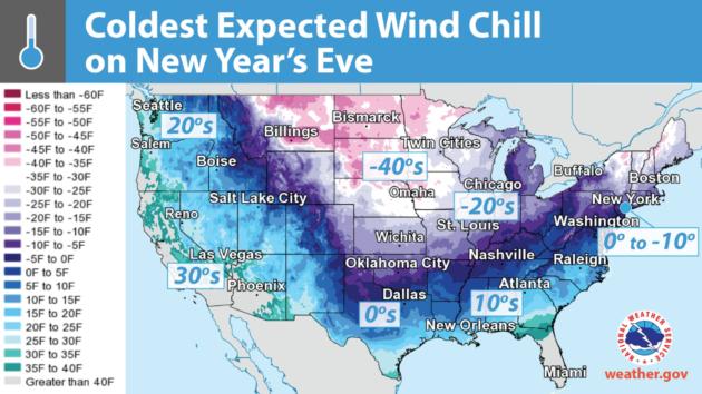 As U.S. braces against brutal cold snap, President Trump ...