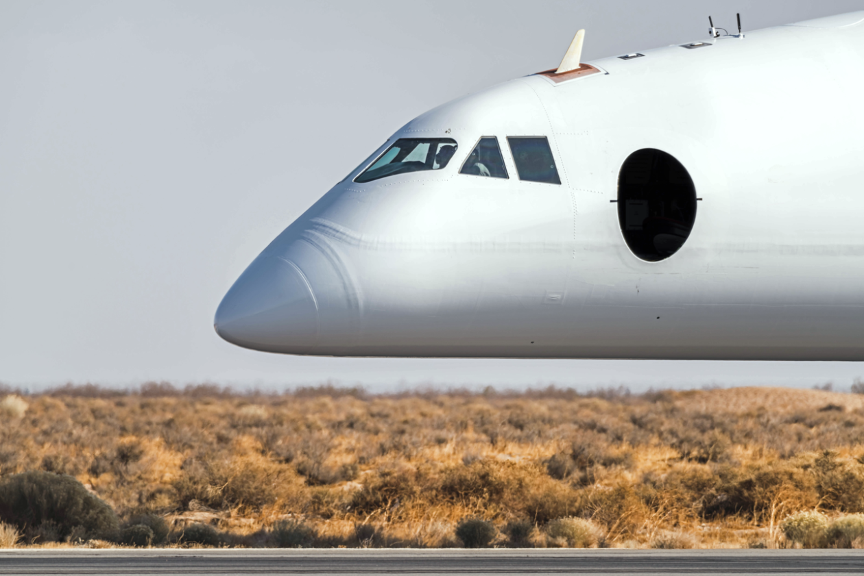 Stratolaunch airplane nose