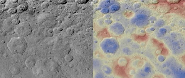 Kwanzaa Tholus on Ceres