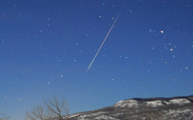 Quadrantid Meteor Shower Kicks Off the New Year