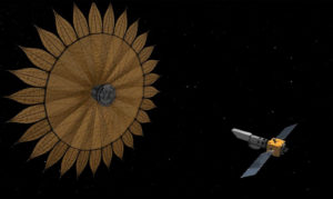 HabEx telescope and starshade