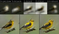 Bird drawing by bot