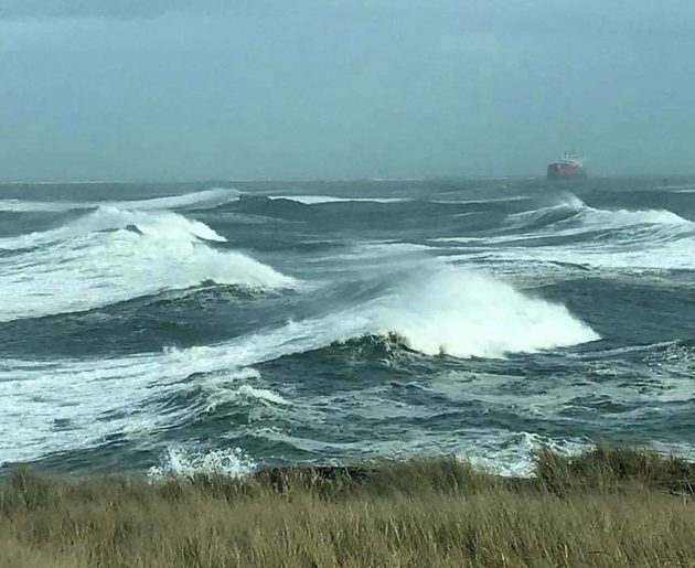 Wild winds and waves wow watchers in Pacific Northwest, with more to come
