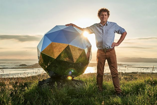 Rocket Lab unveils 'Humanity Star' – a shiny satellite you can see in space
