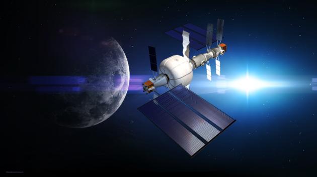 SNC deep-space habitat