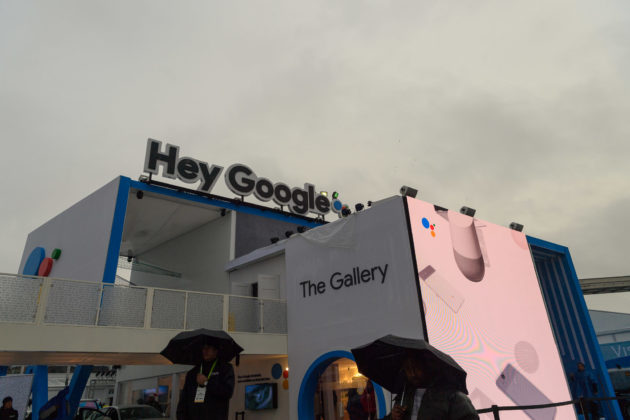 Hey Google, come back later: Search giant's CES booth unveiling