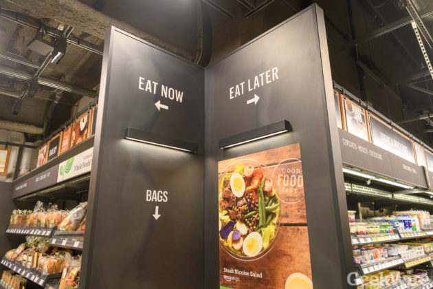Amazon Go Is Finally A Go Sensor Infused Store Opens To The