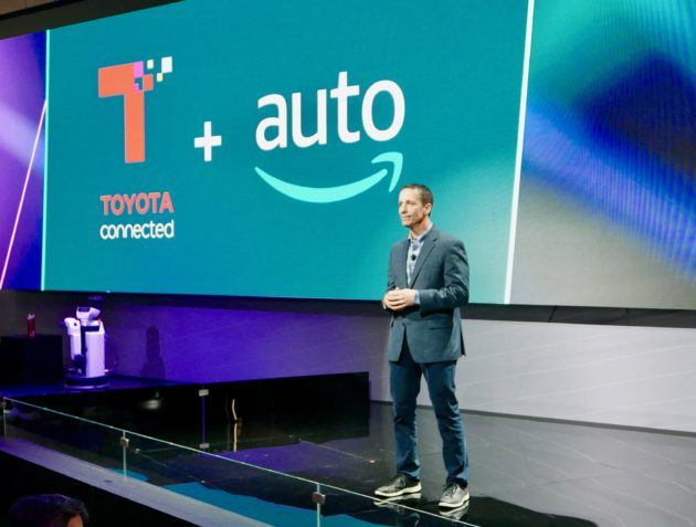 Toyota will add Amazon Alexa to select cars in 2018