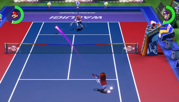 Mario Tennis Aces will be released for the Nintendo Switch this spring