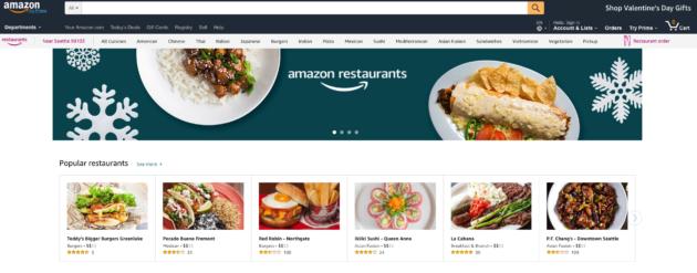 Amazon Restaurants Cuts Jobs As It Battles Uber Postmates