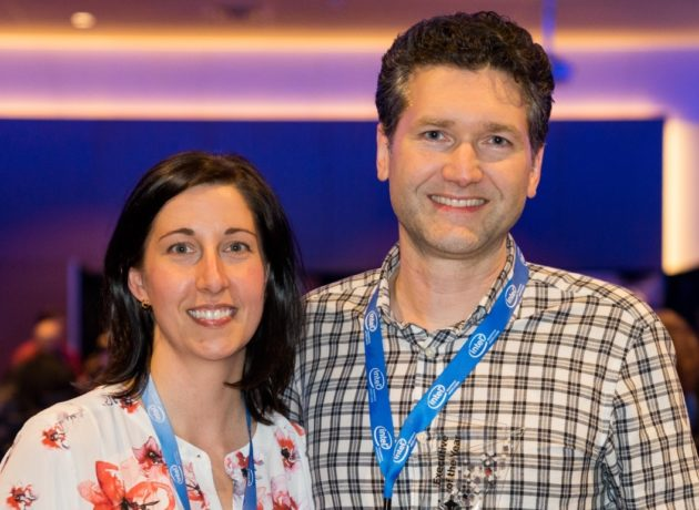 Stuart Denman and his wife Paulette Denman, who is also part of the team building Tiny Bubbles